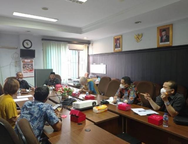 Pertanyakan Pajak Parkir, Komisi II DPRD Pekanbaru Hearing PT Securindo
